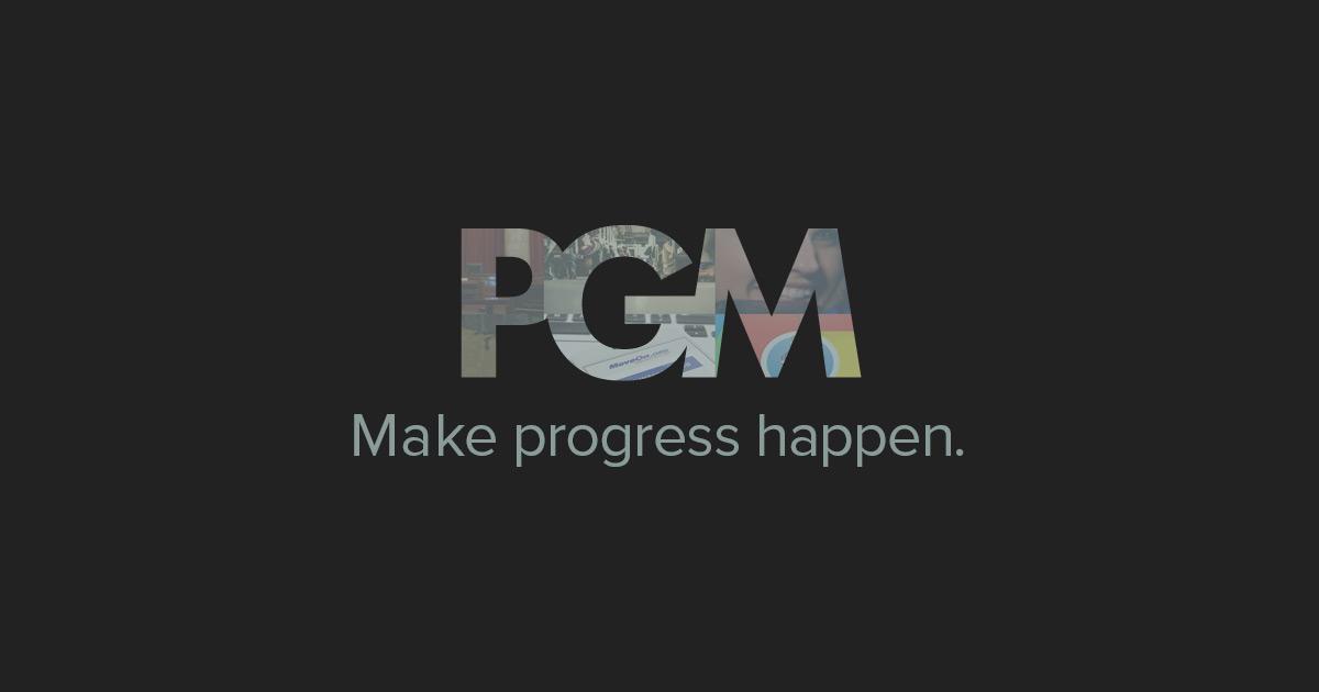 PGM – Digital Agency  Make Progress Happen